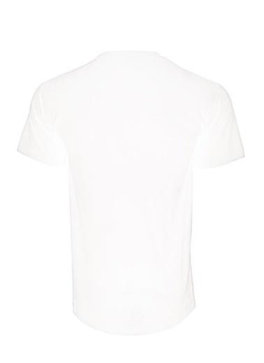 Panthzer  Tubala Erkek T-Shirt Beyaz